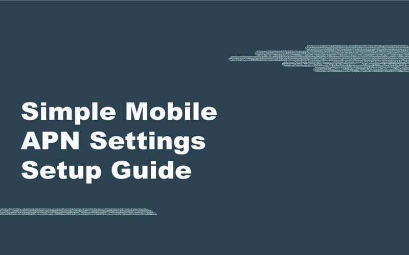 Safelink Apn Settings T Mobile